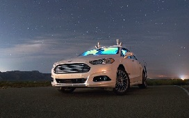 Autonmous vehicle in night sky_272x169